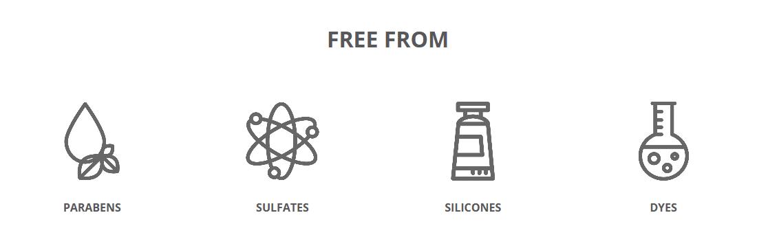 RVL™ Jeunesse Hair Care System, no parabens, no sulfates, no dyes, no silicones