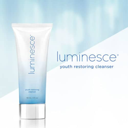 Luminesce Youth Restoring Cleanser, Jeunesse Global official, ageless Canada